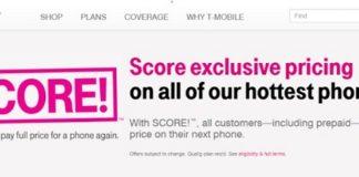 T-Mobile Score plan