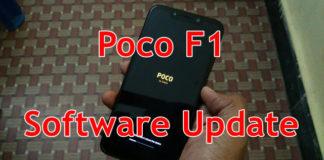 Poco F1 firmware update