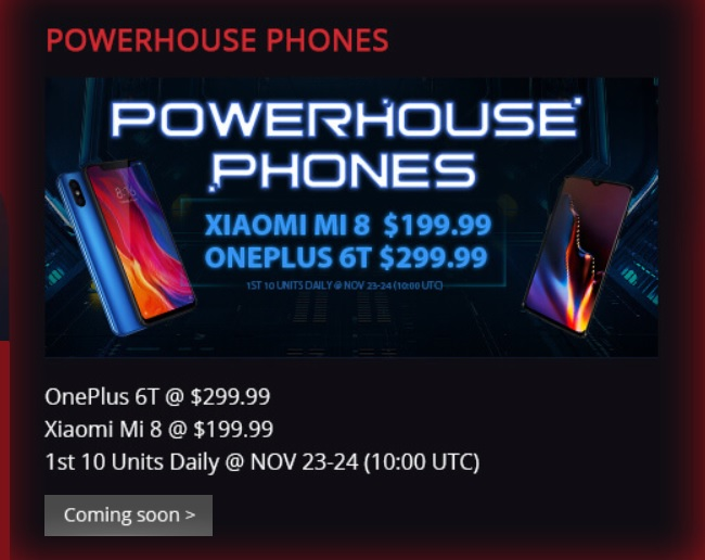 Powerhouse phone deals