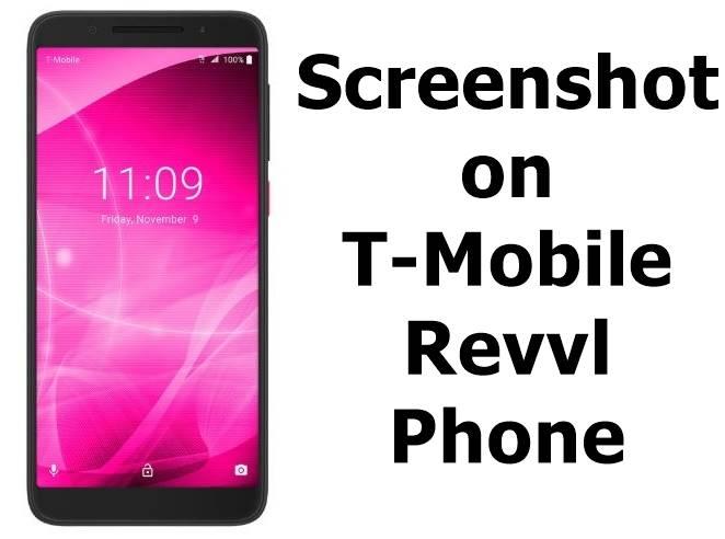Screenshot on T-Mobile Revvl