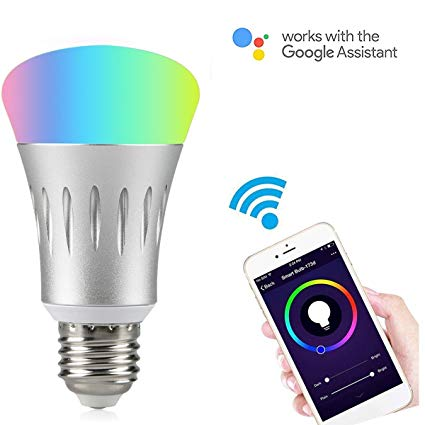 Smart Wi-Fi LED Light Bulb