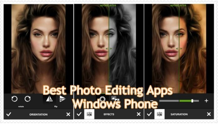 Best Photo Editing Apps for Windows Phone