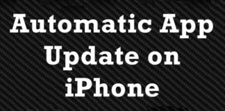 How to Enable Automatic App Update on iPhone
