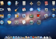 Factory Reset Mac OS X Dock