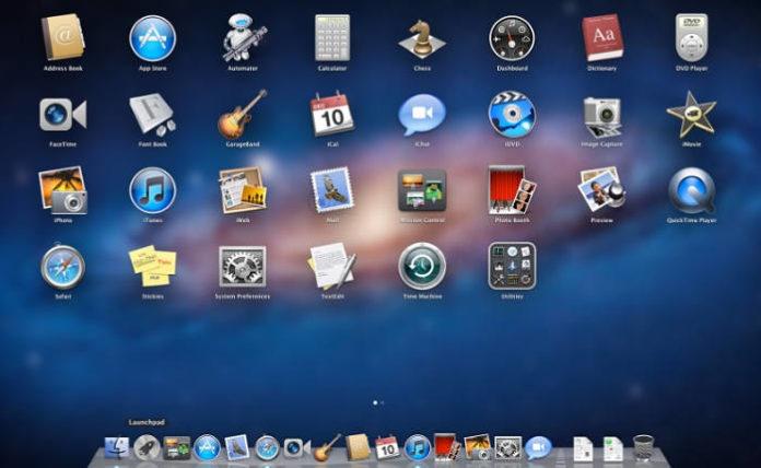 Factory Reset Mac OS X Dock