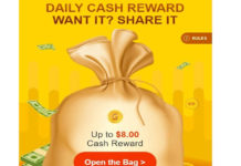 Gearbest Daily Cash Reward