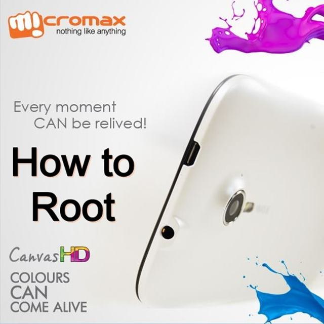 How to Root Micromax Canvas HD