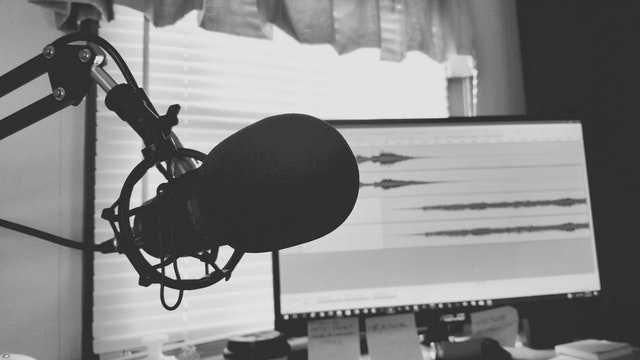 Podcast quality of sound