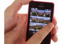 Screenshot on Nokia Asha phone