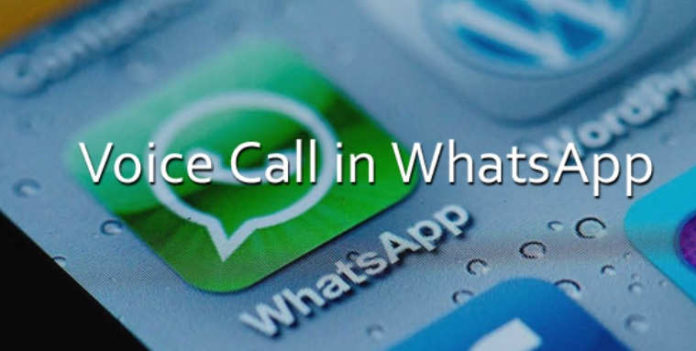 Voice Call in WhatsApp