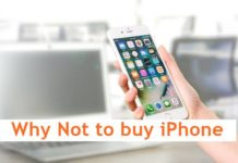 Why Not to buy iPhone