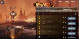 PUBG Weekly Missions