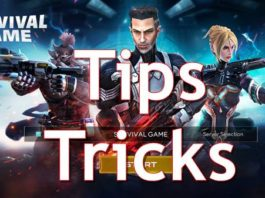 Survival Game Tips and tricks