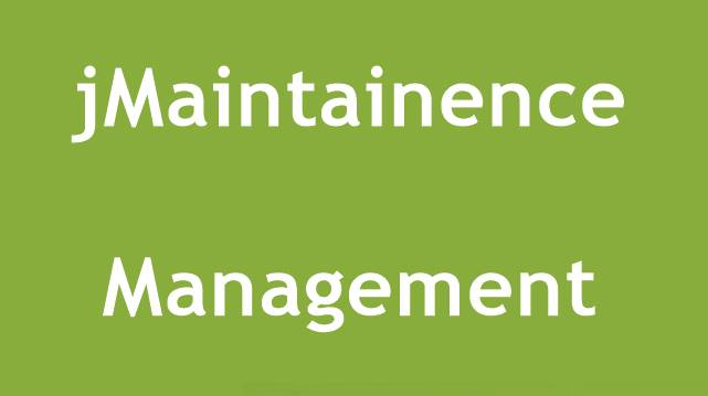 jMaintainence Management