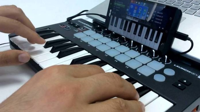 MIDI Keyboard to Android Phone