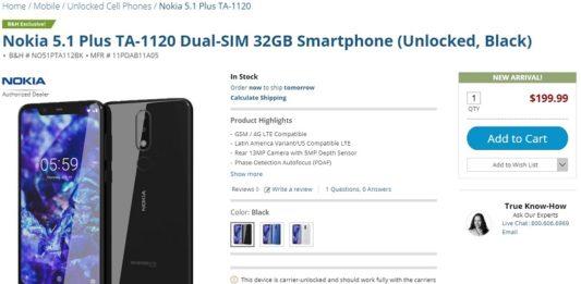 Nokia 5.1 Plus BH