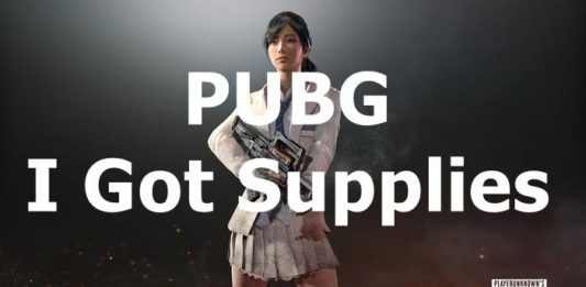 PUBG I Got Supplies