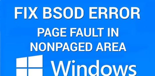 Page Fault in Nonpaged Aread Windows 10