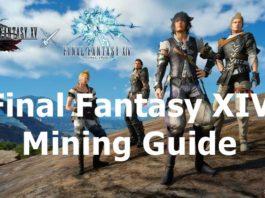 Final Fantasy XIV mining guide