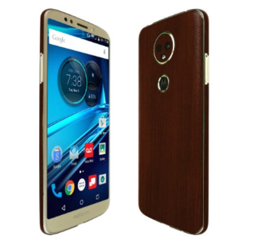 Skinomi Dark Wood Skin with Screen Protector