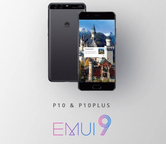 Huawei P10 Android Pie EMUI 9 update