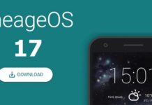LineageOS 17 release date, LineageOS 17 download