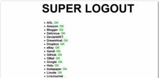 Super Logout