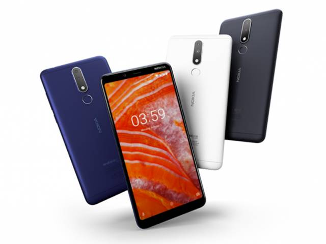 Nokia 3.1 Plus phone