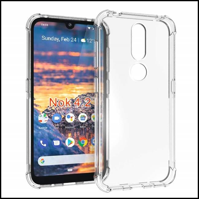 Nokia 4.2 Transparent Case