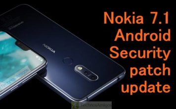 Nokia 7.1 Android Security patch update