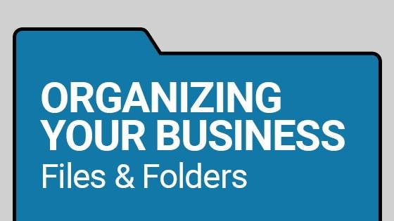 organising files folders