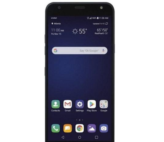 Cricket Wireless LG Harmony 3