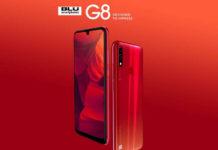 BLU G8 smartphone
