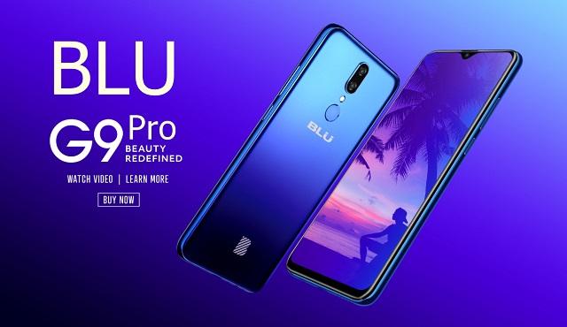 BLU G9 Pro smartphone