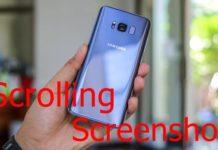 Samsung Long Screenshot